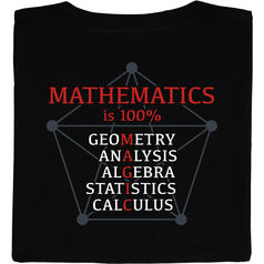 Mathematics is 100% Magic T-Shirt