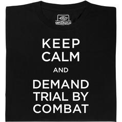 Game of Thrones Trial by Combat T-Shirt