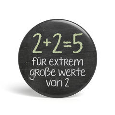 Geek Button 2 + 2 = 5