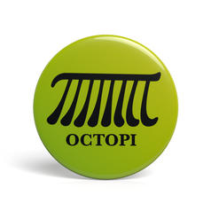 Geek Button Octopi