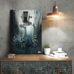Star Wars Rogue One Metallposter