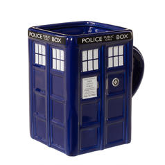 Doctor Who TARDIS Becher