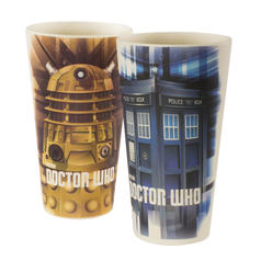 Doctor Who Bambusbecher