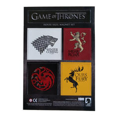 Game of Thrones Hauswappen-Magnete