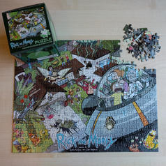 Rick & Morty Puzzle