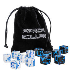 Space Roller Dice - 6 Science Fiction Würfel