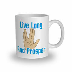 Live Long and Prosper Becher