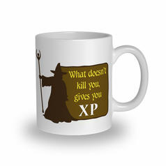 What Doesn't Kill You Gives You XP Becher