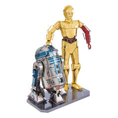 Star Wars Metal Earth 3D Bausatz R2-D2 & C-3PO