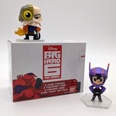 Big Hero Chibi Sammelfiguren-Set