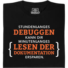 Stundenlanges Debuggen T-Shirt
