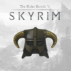 The Elder Scrolls Skyrim Dragonborn-Helm Limited Edition Pin
