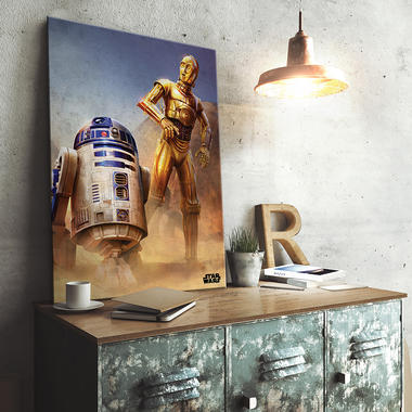 Star Wars Episode IV Metallposter