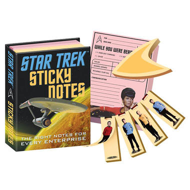 Star Trek TOS Klebezettel