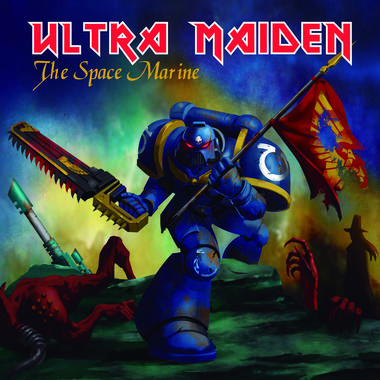 Ultra Maiden Plattencover - The Space Marine